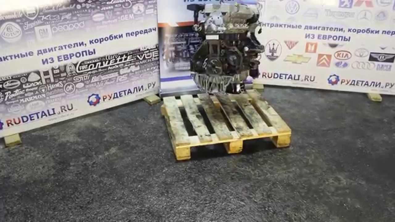 Б/у двигатель X20XEV на Опель Вектра 2.0 контрактный из Германии /Тест ОК/   качество HD