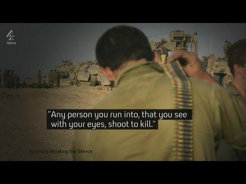 """Allegations of Israeli """"war crimes"""" in Gaza: new evidence from ex-soldiers"""