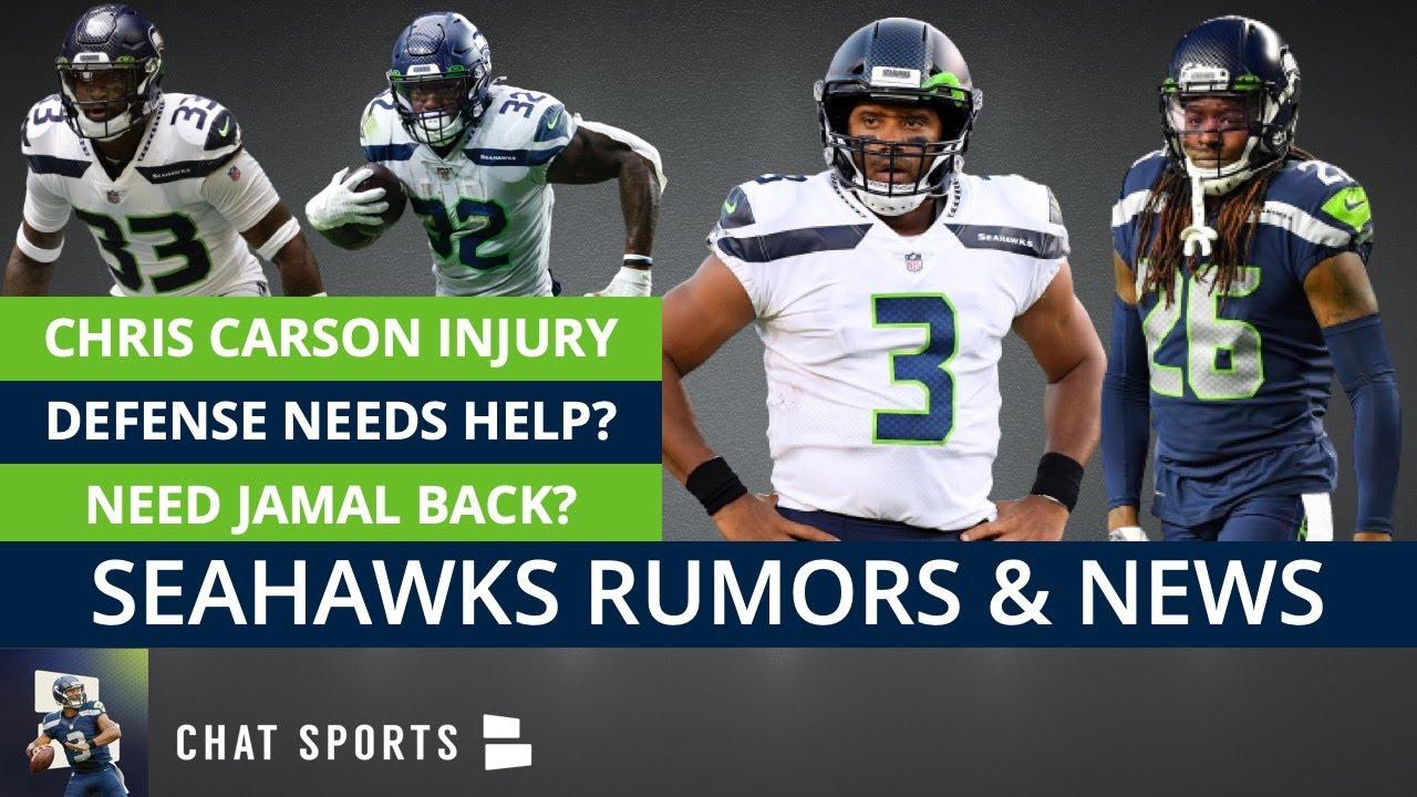 Seattle Seahawks Rumors & News: Chris Carson Injury, Russell Wilson, Defense Needs Help, Jamal Adams