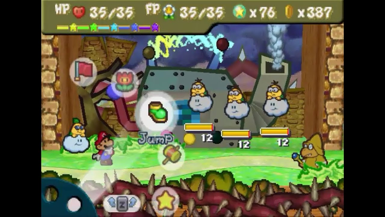 Paper Mario 64 20 The Puff Puff Machine Of Flowers Field Youtube