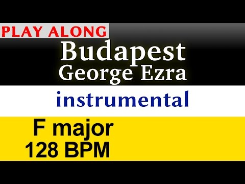 """Budapest"" [George Ezra] Play along karaoke (instrumental)"