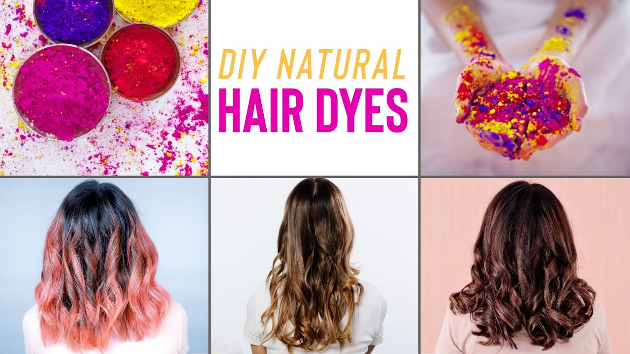 How To Naturally Dye Your Hair At Home Without Any Damage You