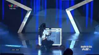 Vietnam's Got Talent: Ảo thuật gia hàng đầu thế giới Paul Cosentino - Màn 2 [FULL HD]