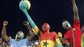 Invasão de campo na meia-final da Taça das Nações Africanas