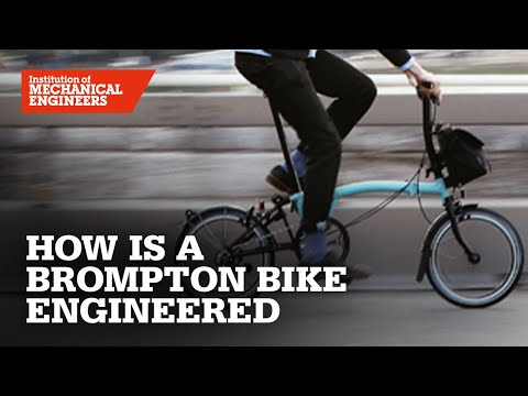 How is a Brompton bicycle engineered?