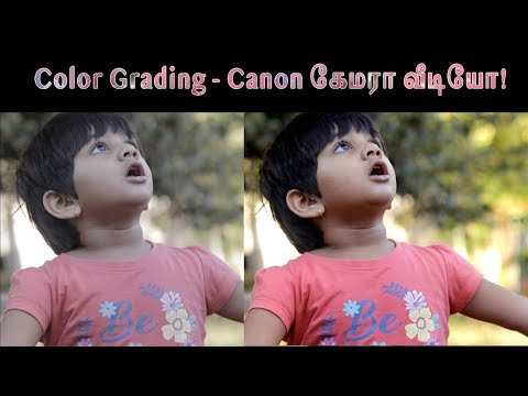 Canon Video Colour grading | NO LUT | தமிழ் | Learn photography in Tamil thumbnail