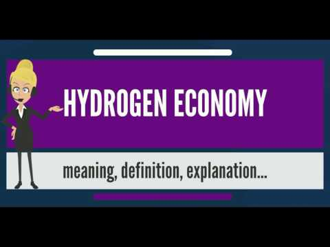 What is HYDROGEN ECONOMY? What does HYDROGEN ECONOMY mean? HYDROGEN ECONOMY meaning