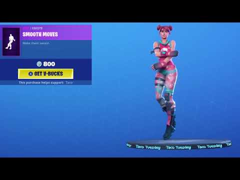 "Fortnite One Hour Emotes!! ""Bubble Bomber"" Dancing ""Smooth Moves"" Emote"
