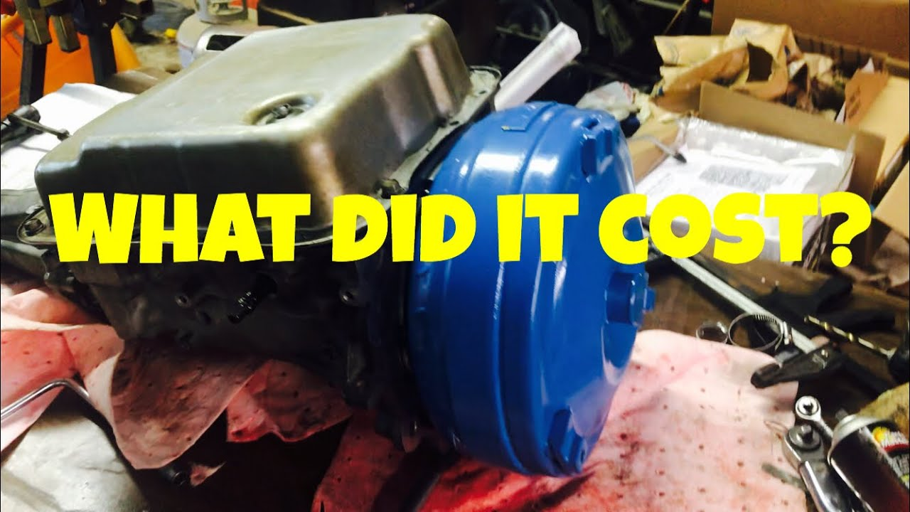 How Much Does It Cost To Rebuild A Transmission >> 4l60e Rebuild Cost