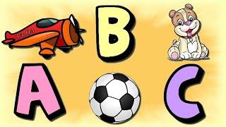 Alfabeto Completo para Crianças / ABC em português / Qual figura começa? #1 - Ep. 18