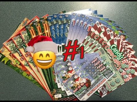 #1 | Holiday Pennsylvania Lottery Scratch Off Tickets