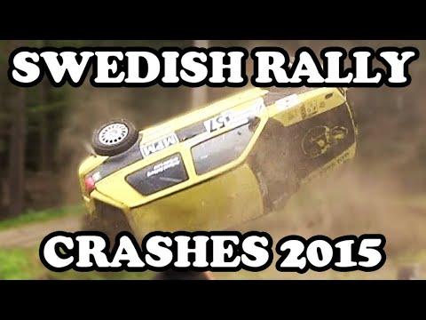 Swedish Rally Crash Compilation 2015!