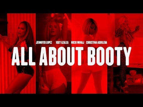 JENNIFER LOPEZ vs IGGY AZALEA vs NICKI MINAJ vs CHRISTINA AGUILERA | ALL ABOUT BOOTY | #MASHUP