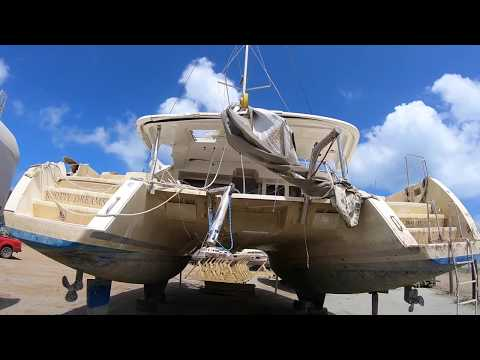 Buying a hurricane damaged yacht! - Episode 1