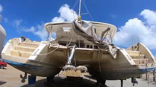 Buying a hurricane damaged yacht! - Episode 1