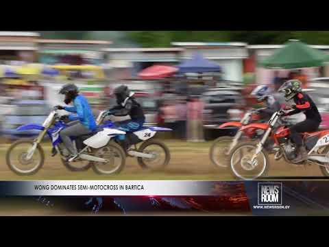 WONG DOMINATES SEMI MOTOCROSS IN BARTICA