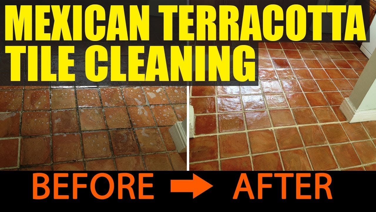 Cleaning And Sealing Handmade Mexican Terracotta Tiles In