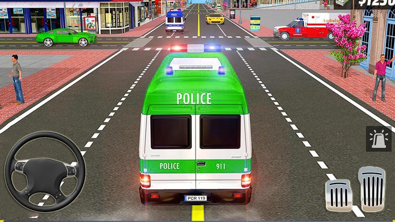 Jogo de Ambulância Desenho - Urgência e Emergência - Jogo de Carro