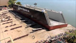 Corn Island Shipyard Dry Dock Launch
