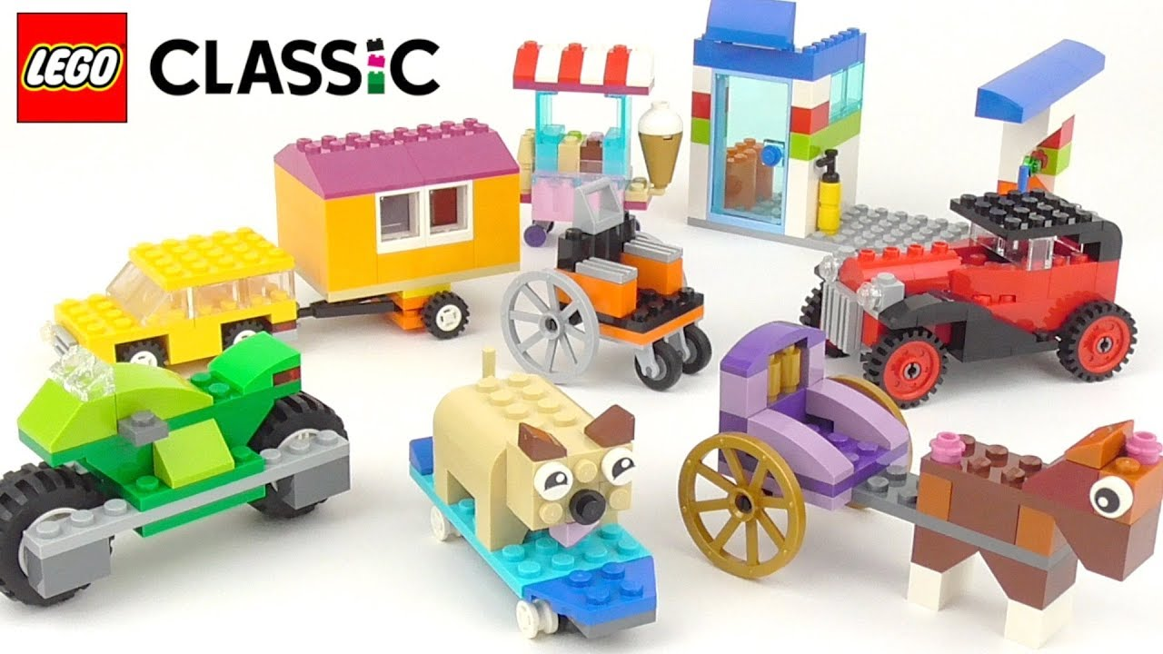 LEGO Classic Bricks On A Roll (10715) – Toy Unboxing and Building Ideas