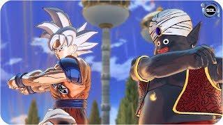 Goku and Mr.Popo Fusion (Mr.Poku) VS Angel Fusion -  Super Dragon Ball Xenoverse 2