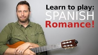 Spanish Romance - Guitar Tutorial with TAB!