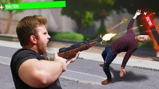 DON'T Get Shot Challenge! | Fortnite