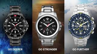 Citizen Promaster  BN0195 54E BN0211 50E JY8078 52L @ Valencia Time Center