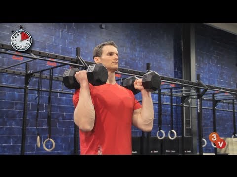 The Perfect Overhead Dumbbell Press