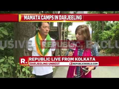 Thumbnail: GJM's Bimal Gurung speaks to Republic TV - June 10, 2017