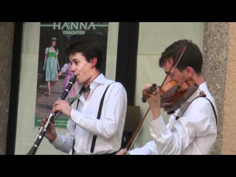 Salzburg, city of music in the streets