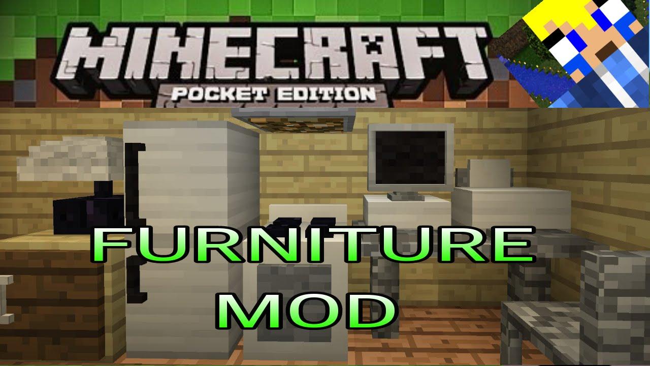 Mod Script-Furniture-Mod De Decoracion-Minecraft Pe 0.9.5-[DESCARGA]