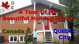 Gambar cover A Tour of My Beautiful Holiday House in Quebec City Canada | AirBnB Canada
