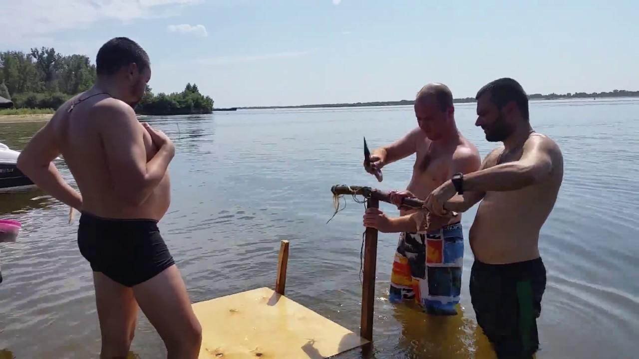 столик на рыбалку своими руками