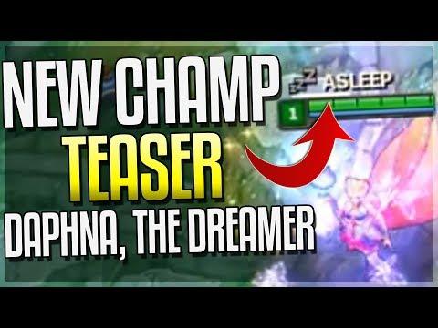 NEW CHAMPION TEASER! Daphna, The Dreamer - NEW 'SLEEP' MECHANIC! League of Legends