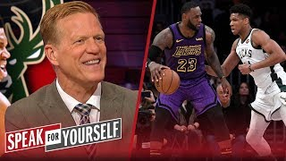 LeBron is a better player than Giannis, has a shot at MVP - Ric Bucher | NBA | SPEAK FOR YOURSELF