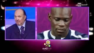 Mario Balotelli intervista dopo partita contro la Germania vinta 2-1