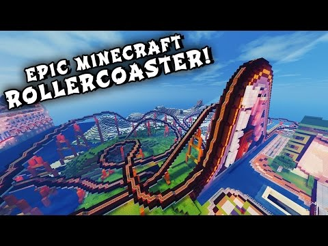 MINECRAFT: ROLLER COASTER 360° VR + DOWNLOAD