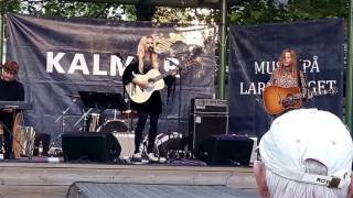 Lisa Miskovsky Larmtorget Kalmar 12/7 2016
