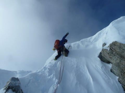Walker Spur - Grandes Jorasses - Wimter Ascent