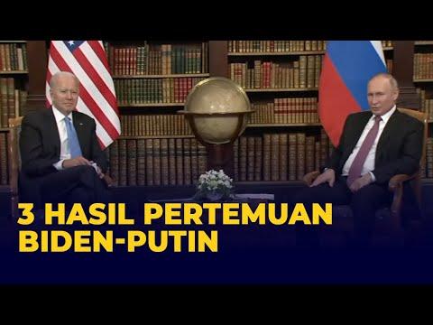 3 Hasil Pertemuan Biden Dan Putin Di Jenewa