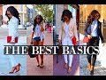 THE BEST BASICS & CLOSET ESSENTIALS | HOW TO BUILD A CAPSULE WARDROBE