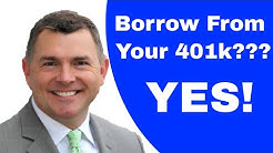 Borrow From Your 401k and Increase Net Worth (Part 1)