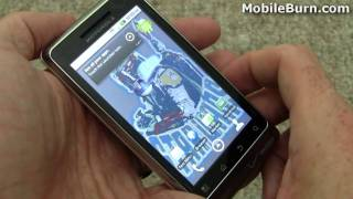 Motorola DROID R2-D2 - unboxing and Star Wars content tour