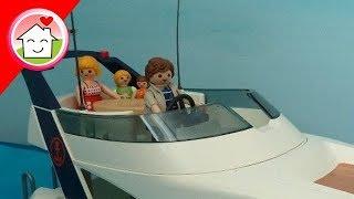 Playmobil Film Deutsch Familie Hauser In Den Ferien Folge 4 - Die Angeltour Auf Der Yacht