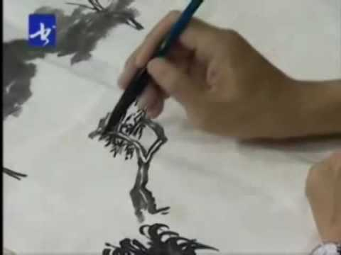 Sumi-e Landscape Chinese Painting (Part 5)