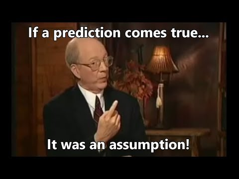 Predictions are Assumptions?