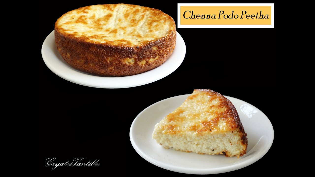Cheese cake in otg chenna podo peetha in otg indian food cheese cake in otg chenna podo peetha in otg indian food andhra cooking telugu vantalu youtube forumfinder