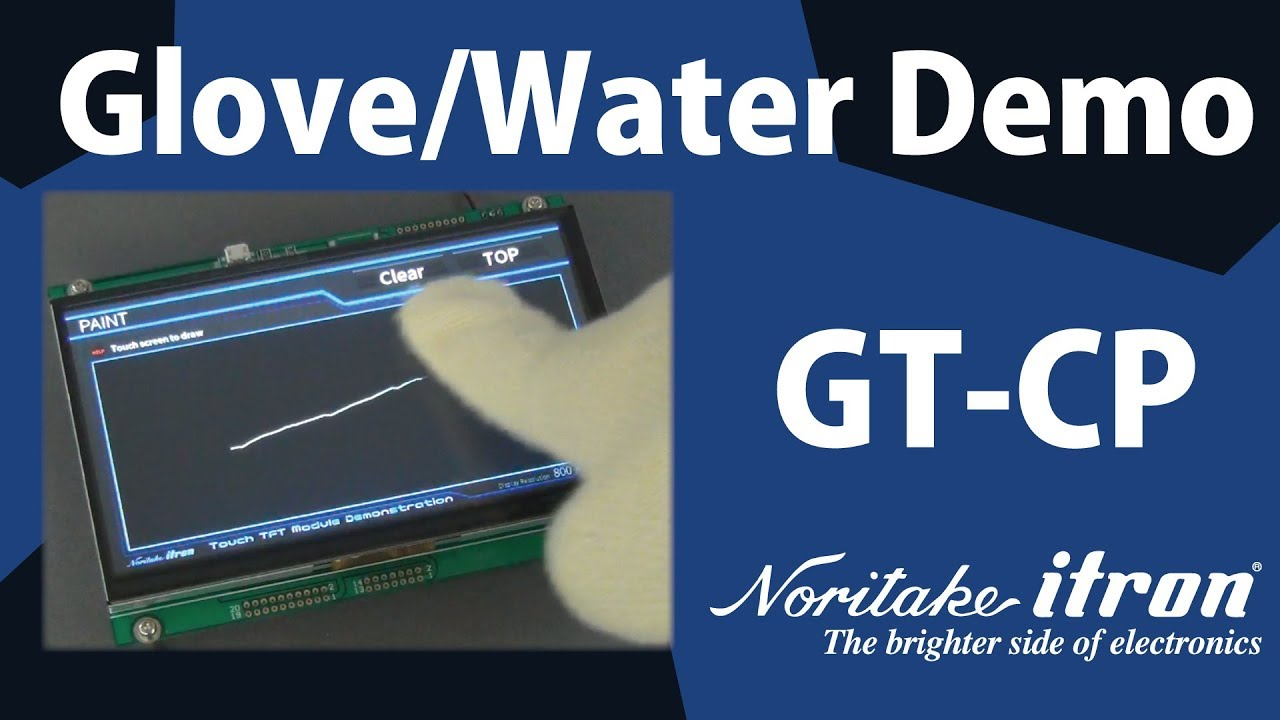 GT-CP TFT Touch Module | Noritake Co , Inc  Electronics Division