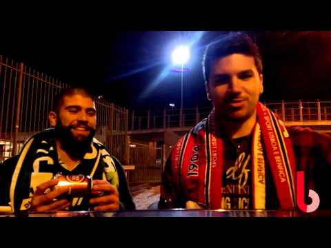 Benfica vs Sporting Shotgun Drinking Contest!
